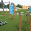 Výstavba workoutového ihriska