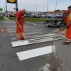 Mestská časť začne v pondelok s obnovou vodorovného dopravného značenia